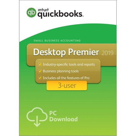 QuickBooks Premier 2019 3-User for Windows