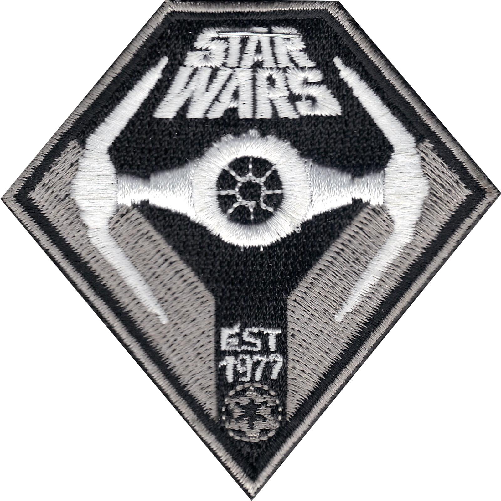 Star Wars Tie Interceptor 'Est 1977' Iron On Patch