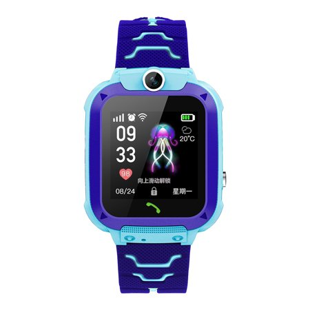 Children Watch IP67 Waterproof Touch LBS Positioning One-Click SOS Anti-Lost For IOS Android Voice (Best Chat Rooms For Android)