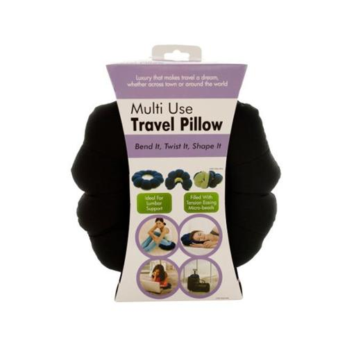 Bulk Buys OC804-4 Multi-Use Travel Pillow