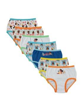 Moana 7pk Panty (Toddler Girls)