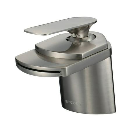 Euro Modern Contemporary Waterfall (Dyconn Faucet Marble (WF003-A19BN) 4-1/2-Inch Contemporary Modern Waterfall Bath )