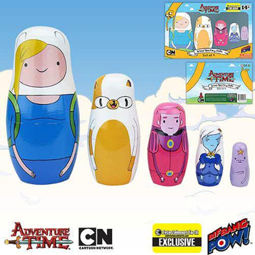 Adventure Time Nesting Dolls Set of 5
