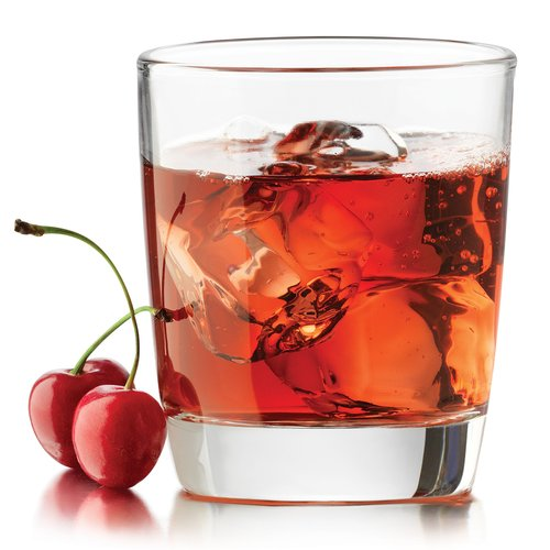 Libbey Claret Double Old Fashioned Glasses, 4 in Set