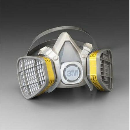 5103 Sm Acid Gas Respirator W/cart, Package Quantity: (1) 3 Piece Unit By 3M