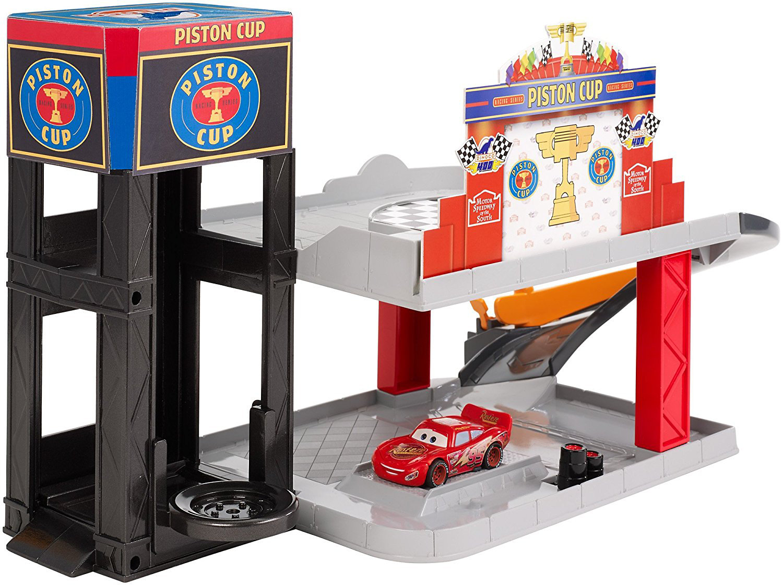 Disney Pixar Cars Piston Cup Racing Garage by Mattel