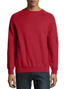 Hanes Men's and Big Men's Nano Premium Soft Lightweight Fleece Sweatshirt, Up to Size 3XL