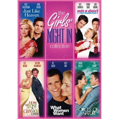 The Girls' Night In Collection: Just Like Heaven / How To Lose A Guy In 10 Days / What Women Want / Forces Of Nature / Win A Date With Tad Hamilton (Widescreen)