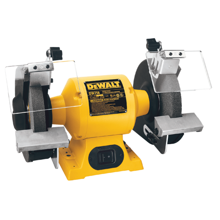 DEWALT DO NOT ENTER Bench Grinder 8