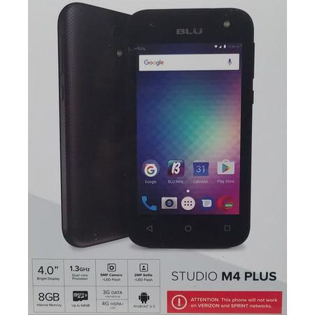 Blu Studio M4 Plus Black
