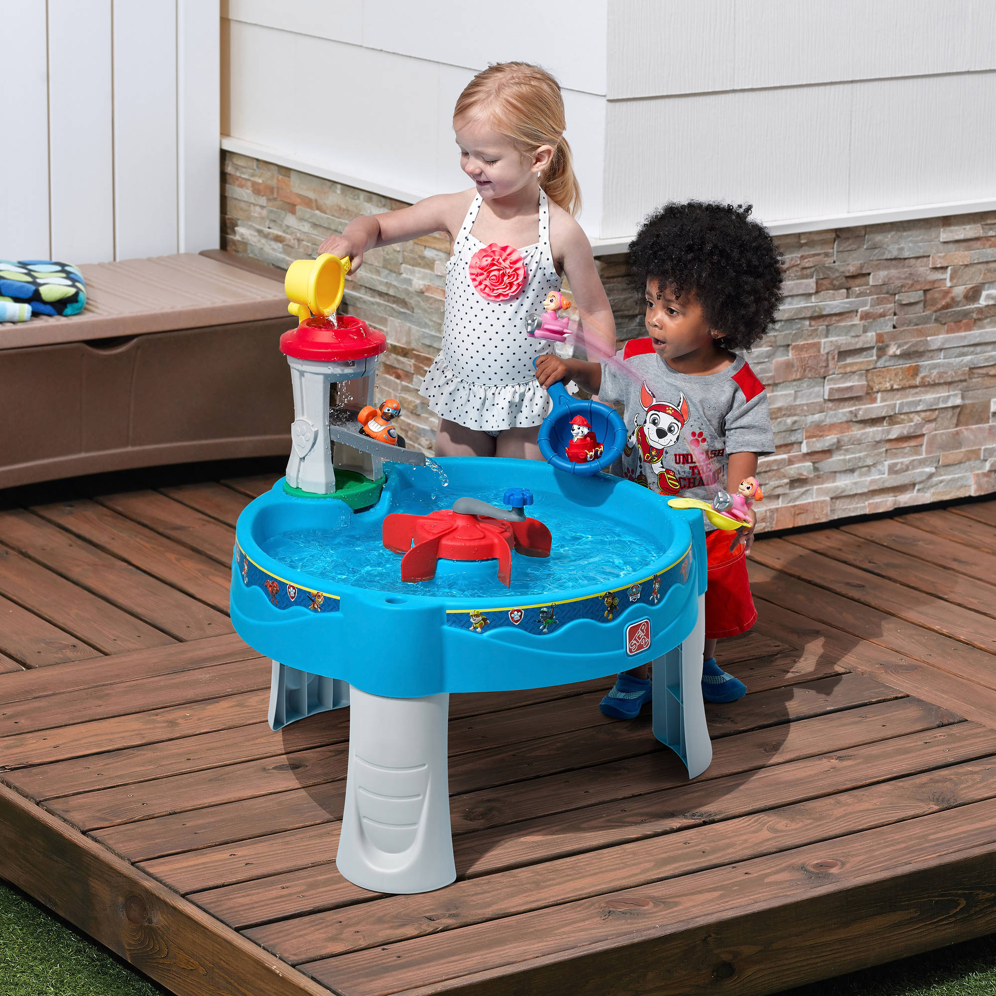 Paw Patrol Water Table Backyard Play Toy Toddlers Outdoors Explore Fun Kids  Gift