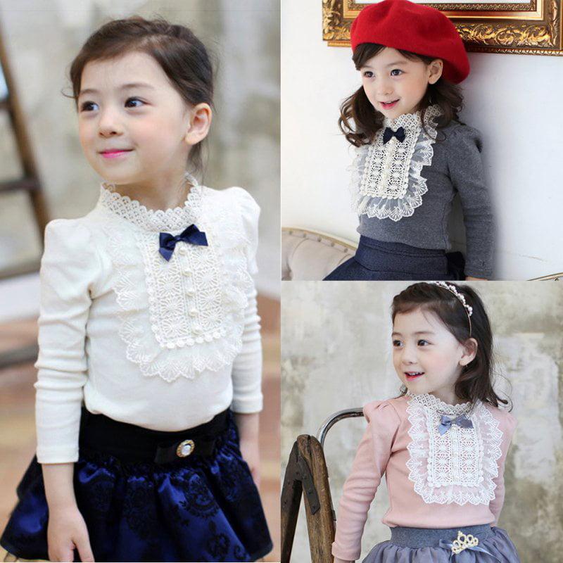 Unicorn Sweater Newborn Baby Girls Long Sleeve Sweet Ruffle Tops Warm Clothes
