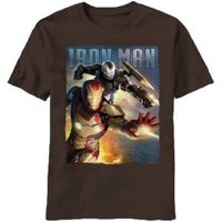 Iron Man Blast Team Adult T-Shirt