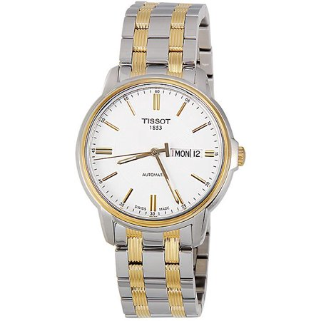 T-Classic Automatic III White Dial two-tone Mens Watch T0654302203100