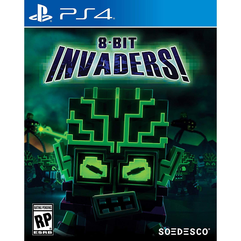8-Bit Invaders!, Soedesco, PlayStation 4, 852103007000