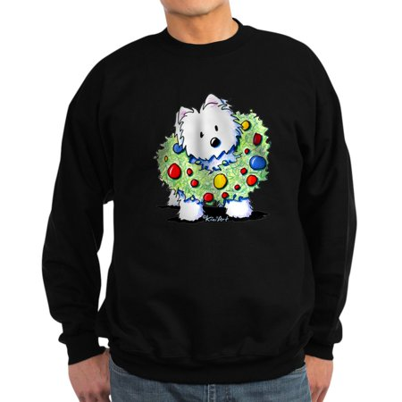 Classic Crewneck Sweatshirt - CafePress - Westie Wreath - Classic Crew Neck Sweatshirt