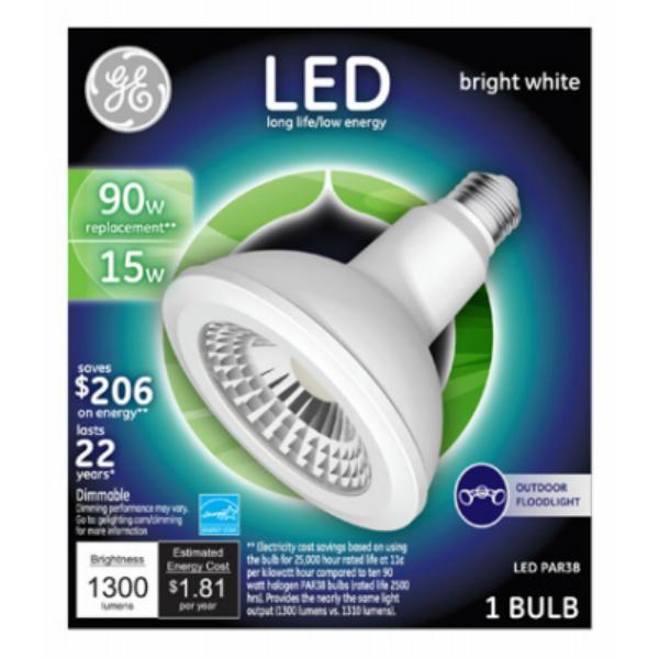 GE Lighting 13187 15W LED Light Bulb, 1300 Lumens