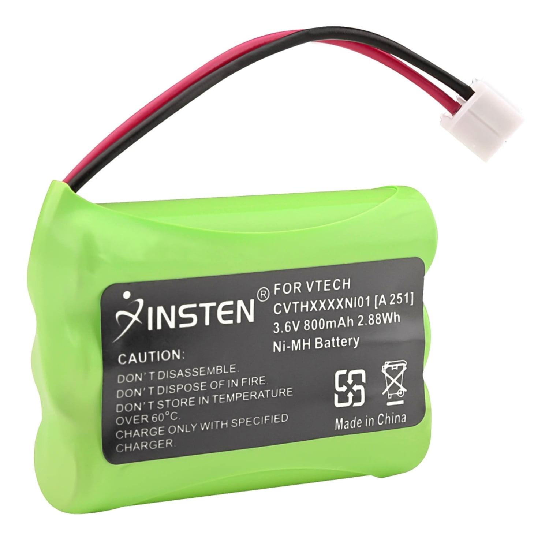 Insten 3.6V Cordless Phone Ni-MH Battery 89-1323-00-00 27910 For Vtech i6725 i6727 i6763 i6765 i6767