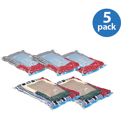 Whitmor Spacemaker Storage Bags, Set of 5