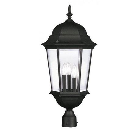 - Livex Lighting Hamilton 3 Light Outdoor Post Lantern
