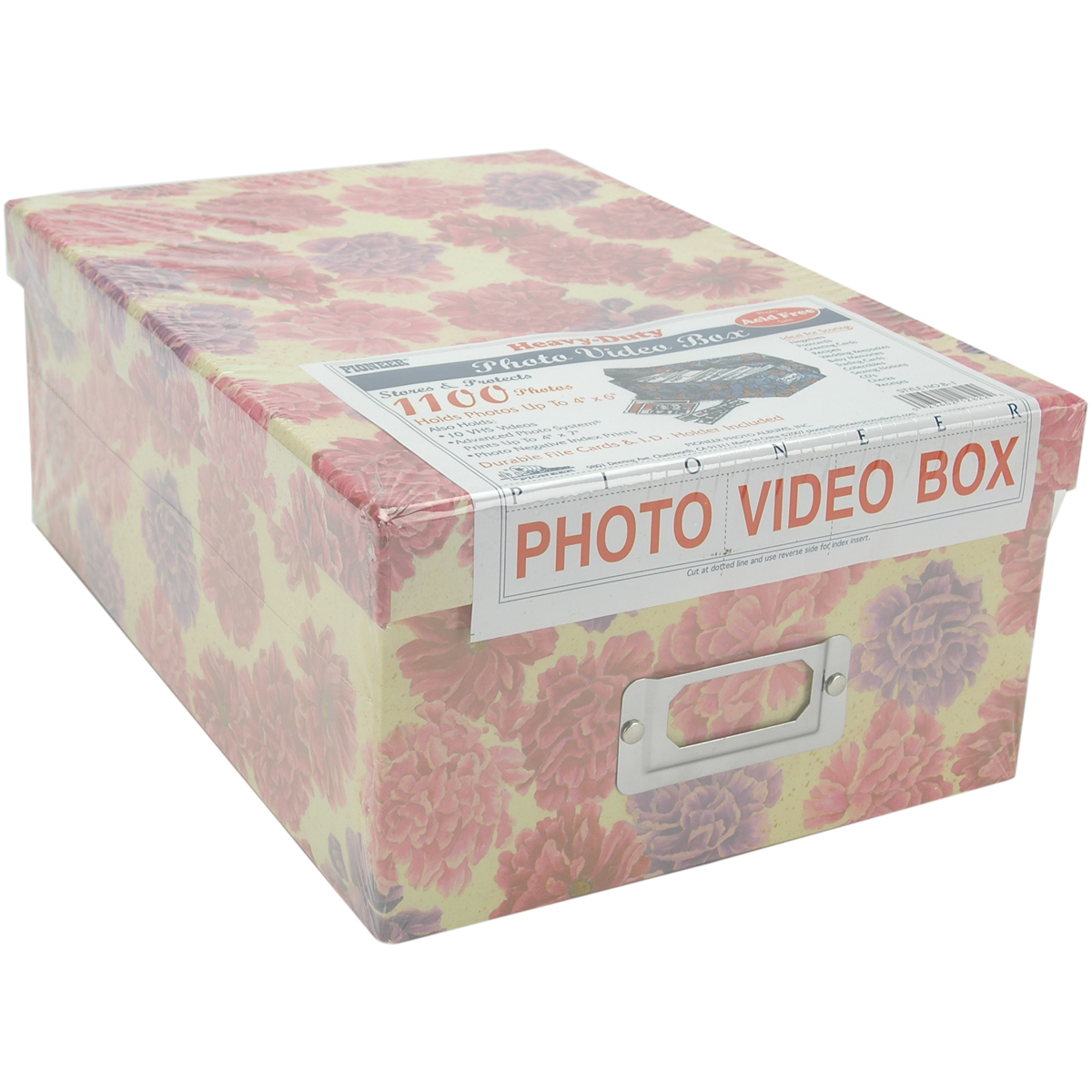 "Pioneer Photo/Video Box, 4.5"" x 8"" x 11.5"