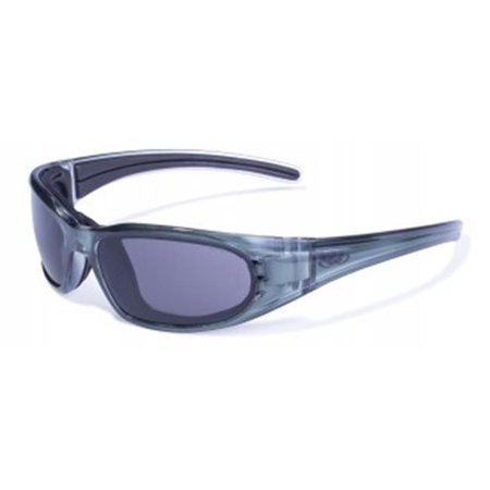Colored Frame Safety Glasses : Safety Leader Color Frame Safety Glasses With Smoke Lens ...