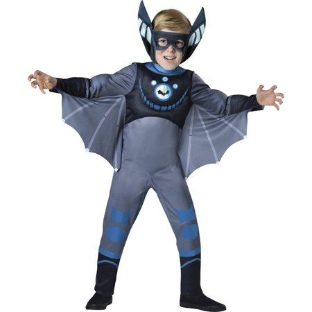 Wild Kratts Quality Blue Bat Child Halloween Costume](Bat Clipart Halloween)