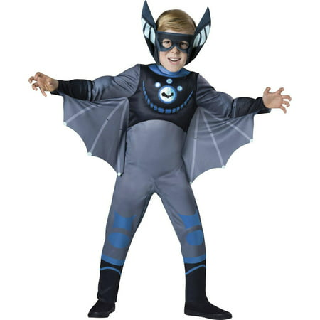 Wild Kratts Quality Blue Bat Child Halloween - Bat Costume Kids