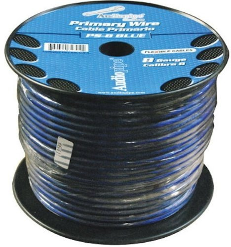 Nippon PS8BL Power Wire 8 Gauge Blue 250 ft. roll