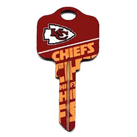 KCKW1 NFL CHIEFS KW1 Chiefs Team Key Quantity 5