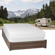 Select Luxury  Home RV 8-inch Short-size Queen Memory Foam Mattress