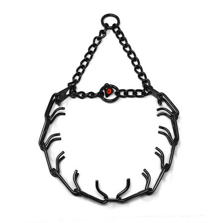 Herm Sprenger Stirrups (Herm Sprenger German Black Stainless Steel Collar 50004 010 (57) 1/8 inch (3.2 mm) - Size 23 inches (58 cm))