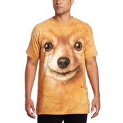 Pomeranian Face Adult T-Shirt 10-3365