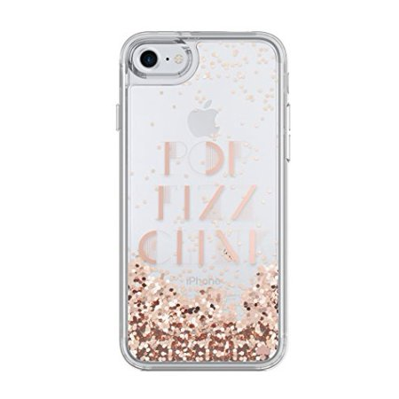 Kate Spade New York Liquid Glitter Case for iPhone 8 & iPhone 7 - Pop Fizz Clink Rose Gold / Clear