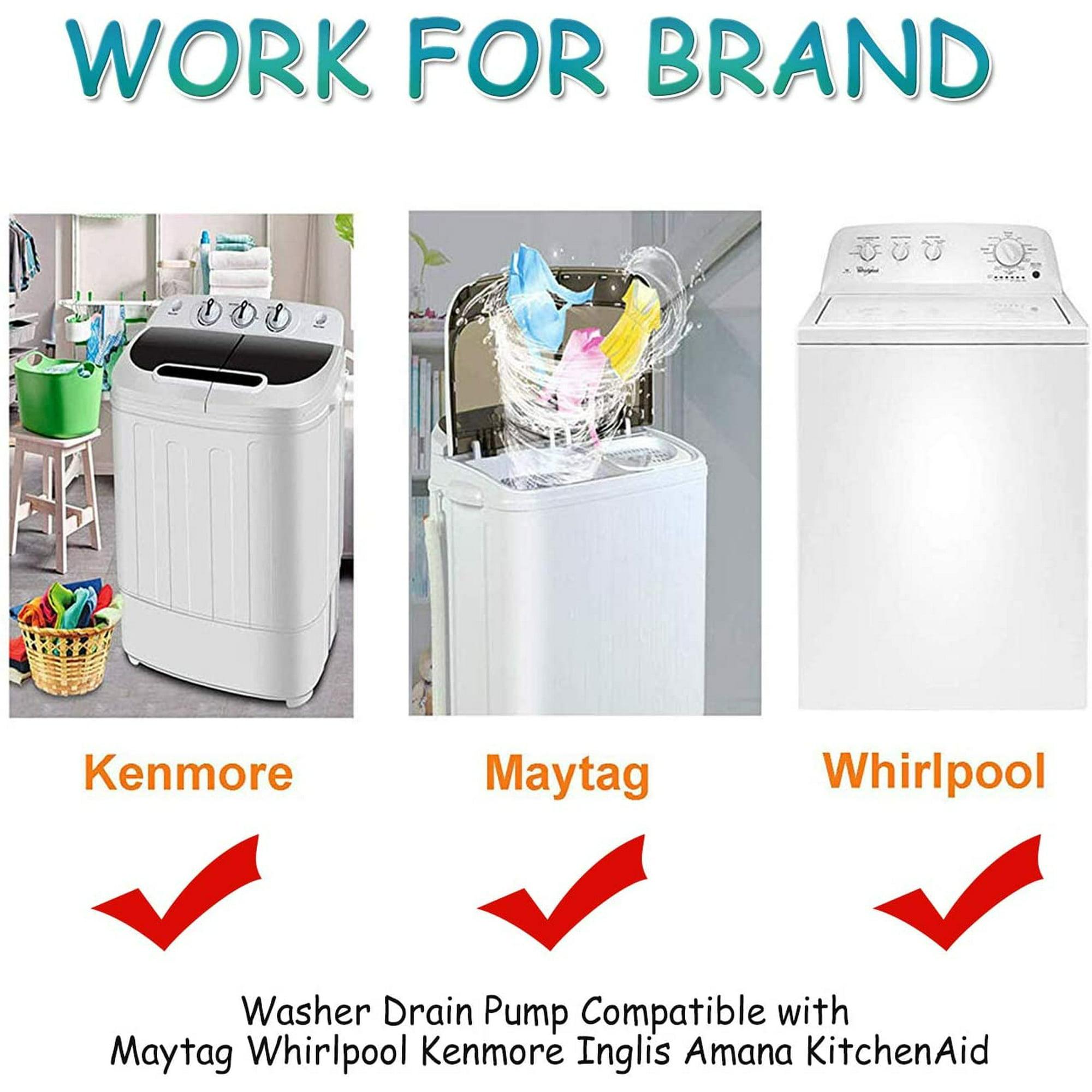 Whirlpool Maytag Kenmore Washer Drain Pump Motor  8182821  280187