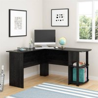 Ameriwood L-Shaped Office Desk with Side Storage, Multiple Finishes