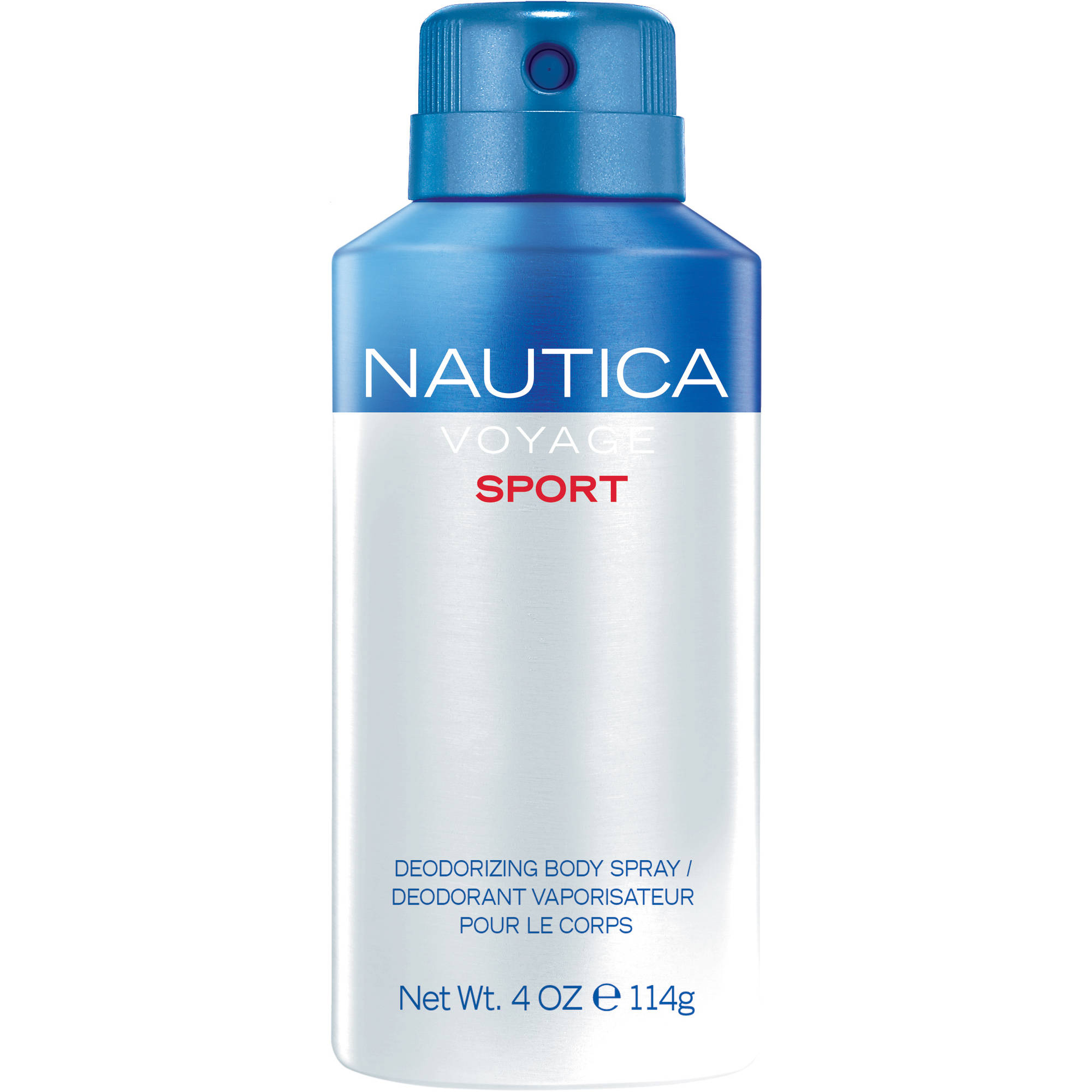 Nautica Voyage Sport Deodorizing Body Spray, 4 oz