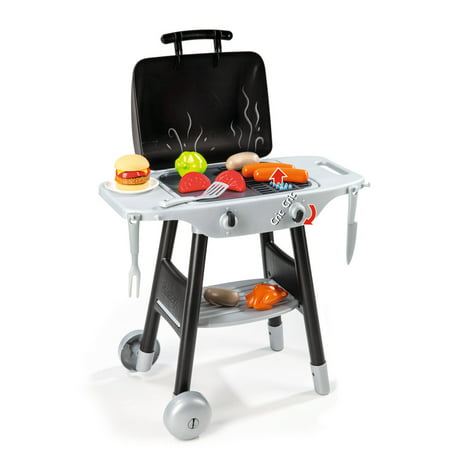 smoby bbq plancha play grill with accessories. Black Bedroom Furniture Sets. Home Design Ideas