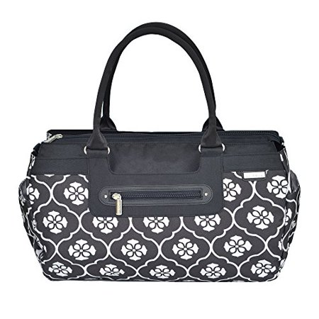 - JJ Cole Parker Diaper Bag, Black Floret