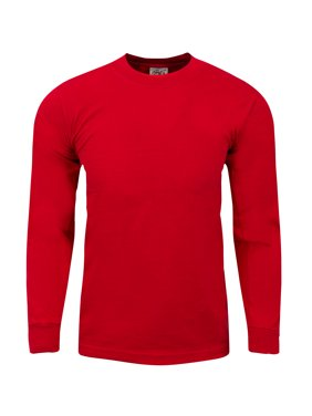 0d1f502ed99925 Product Image Shaka Wear Mens Max Heavy Weight Cotton Long Sleeve Crew Neck  T shirt S~7XL