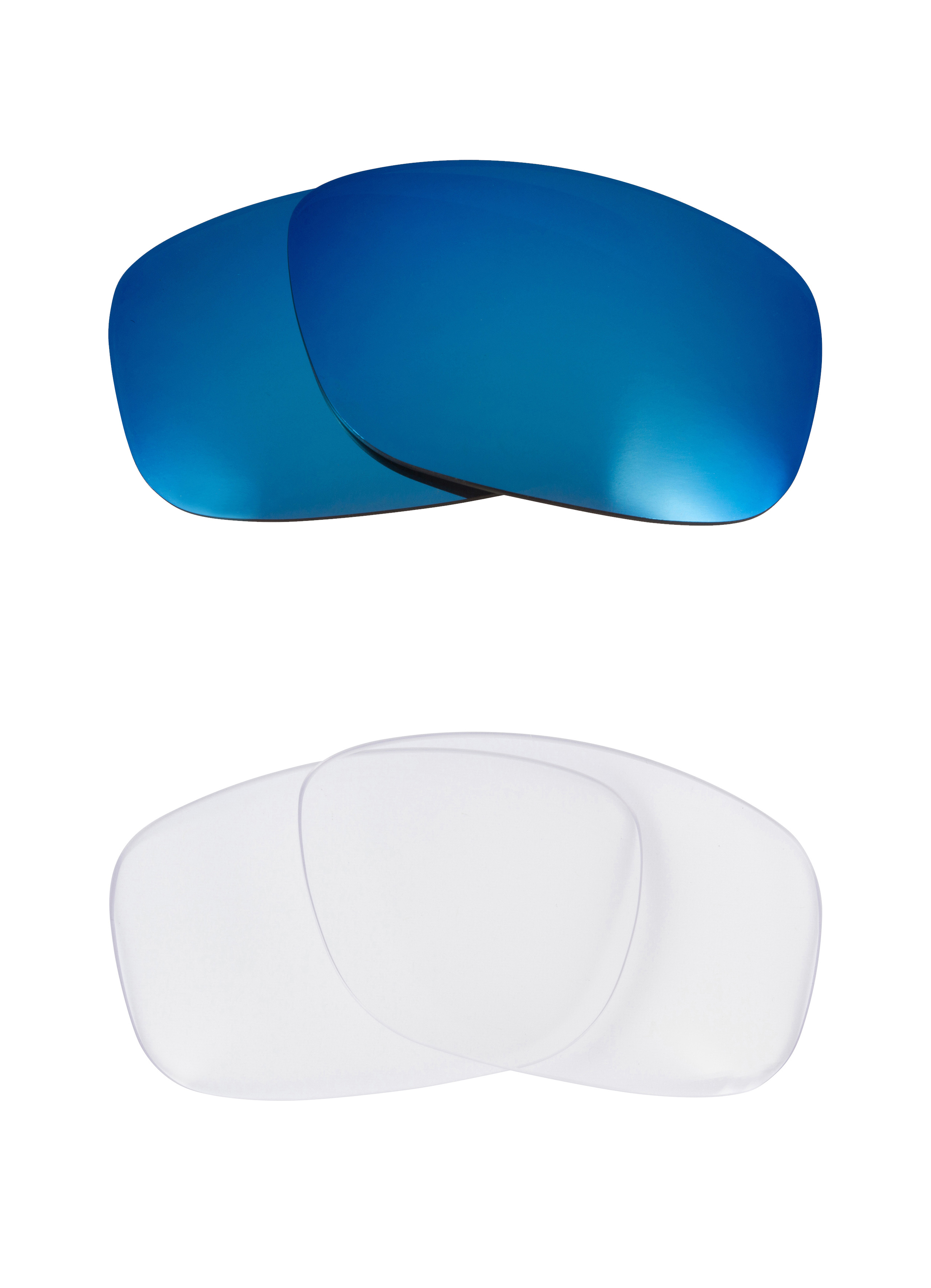 a0ef45babc FLAK 2.0 XL Replacement Lenses Crystal Clear   Blue by SEEK fits OAKLEY