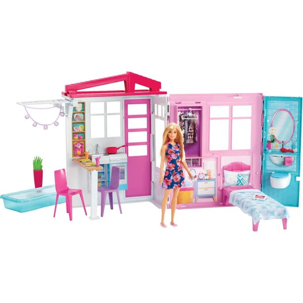 Barbie House And Doll Walmart Com Walmart Com
