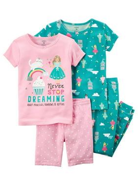 3d4ea43f5177 Carter s Baby Girls Pajamas - Walmart.com