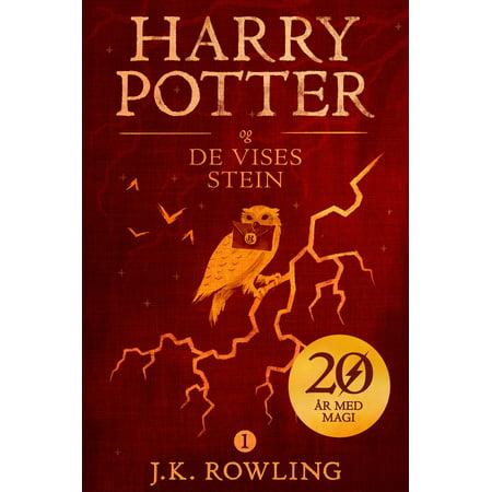 Harry Potter og De vises stein - eBook