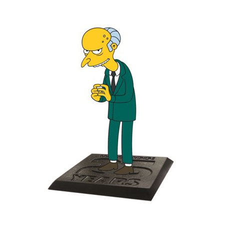 Action Figure - Simpsons - Montgomery 2.75