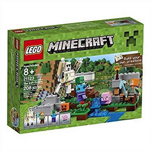 Lego Minecraft The Iron Golem, 21123 by LEGO Systems, Inc.