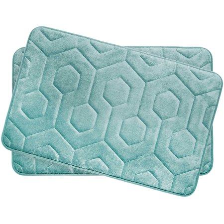 Bounce Comfort Hexagon Premium Memory Foam Bath