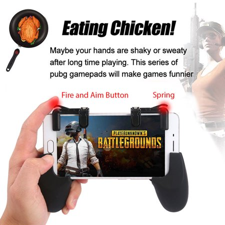 Mobile Game Fire Button Aim Key Gaming Trigger L1R1 Shooter Controller for PUBG - image 5 de 8