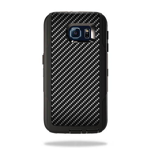 Skin For Otterbox Defender Samsung Galaxy S6 Carbon