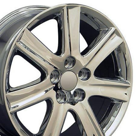 - 17x7 Rim Fits Lexus - ES 350 Style Chrome Wheel, Hollander 74190 - SET